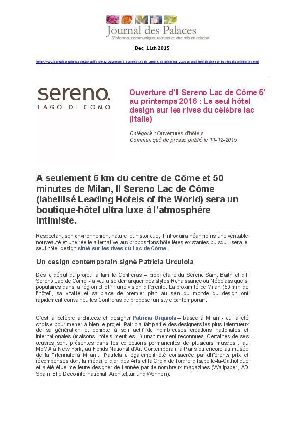Le Journal des palaces 11.12.15 - ISLC-page-001